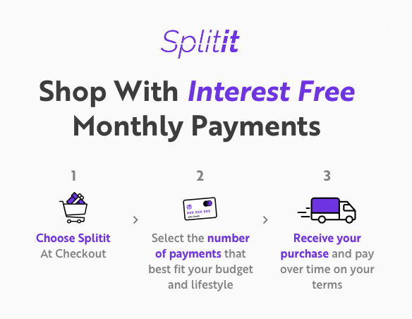 interest free monthly payments