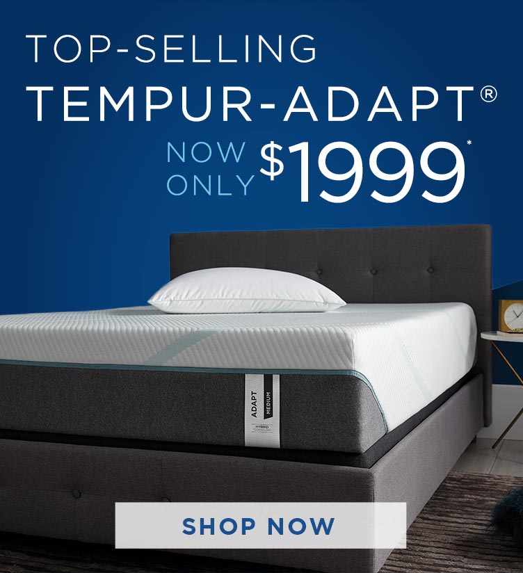 tempur-pedic sale tempur-adapt mattress 1999